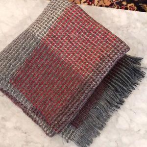 Multicolored J Crew blanket scarf NWOT
